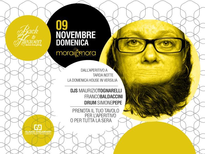 domenica 9 novembre moramora