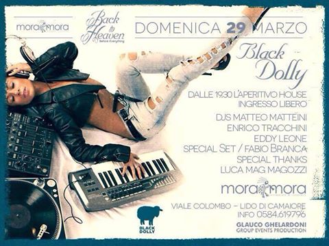 domenica 28 marzo black dolly moramora