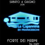"""In Capannina culmine dei festeggiamenti con """"Forte dei Marmi by Night"""""""