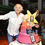 Grande successo per il compleanno di Jerry Calà in Capannina