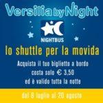 Torna il Versilia by Night, lo shuttle della movida