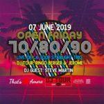 Open Friday 70s 80s 90s   Gazebo
